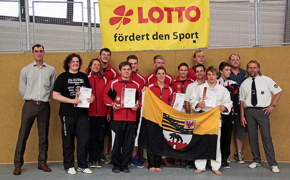 Team Sachsen-Anhalt 2014